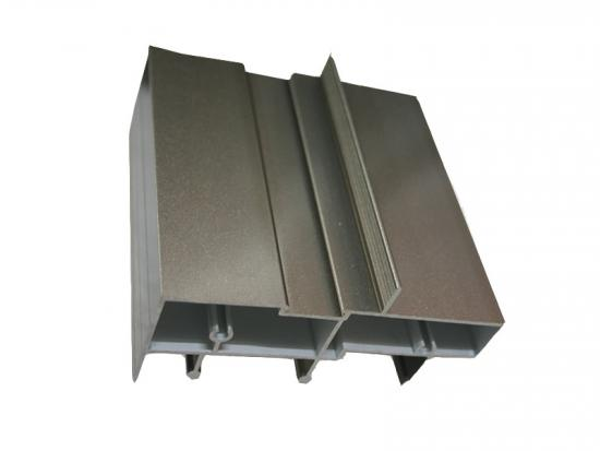 High grade PVDF coating 6063 aluminum alloy extrusion profiles