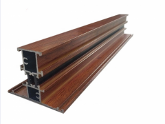 6000 Series Wood Grain Transfer Aluminum Profile