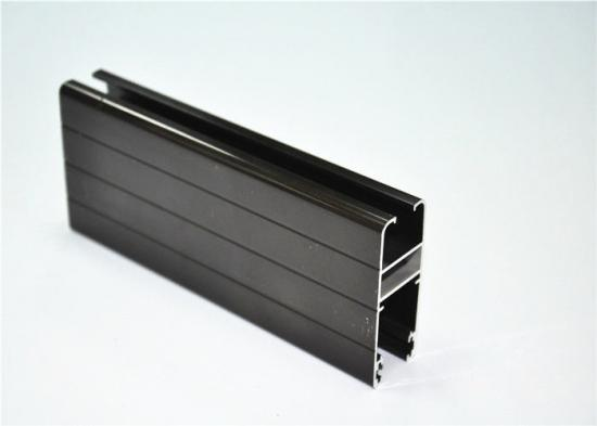Anodizing aluminum profile for window and door and for industrial